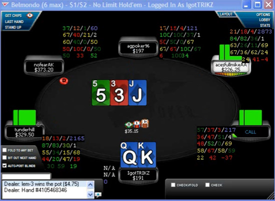 The poker house online